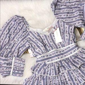 LOVESHACKFANCY ASTOR DRESS IN DUSK